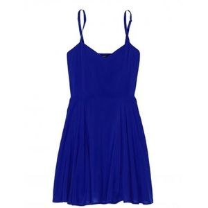 Aritzia Talula Lipinski Blue Dress